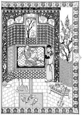 Selim Šīrāzī und das Mirabellenmädchen