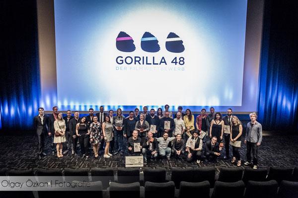 Gala des Gorilla 48 Kurzfilm Wettbewerb: die Sieger