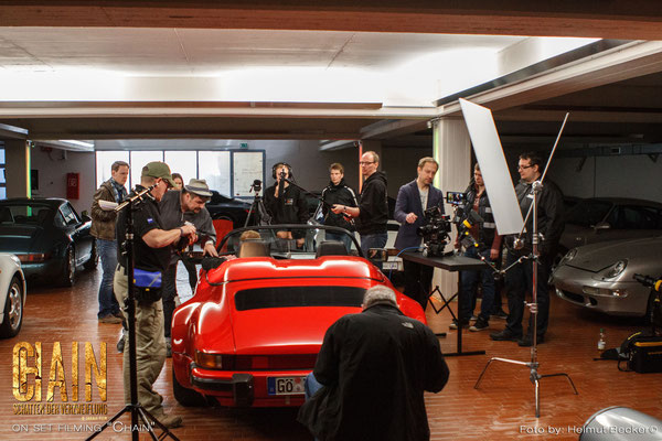 "Stefan Czech as the DoP for the second shot for the movie ""Chain"" from Jakale Film: on location with some Porsche"