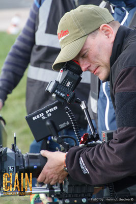 Stefan with the best job in the world: Make movies