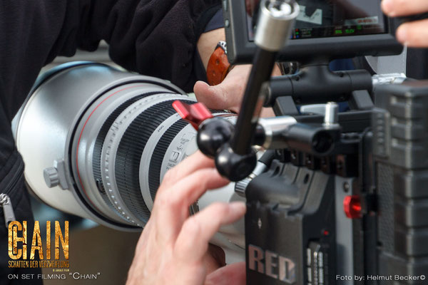 "Stefan Czech as the DoP for the second shot for the movie ""Chain"" from Jakale Film: Shot on RED with Canon & Zeiss optics"