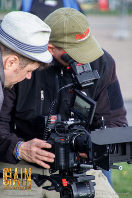 "Stefan Czech as the DoP for the second shot for the movie ""Chain"" from Jakale Film: two film fanatics at work"