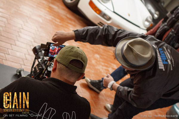 Close work for director and DoP