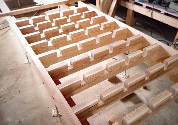 格子の耐力壁の組み方