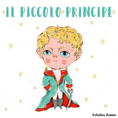 """Work on commission - Inspired by the characters of the book """"The little Prince"""""""
