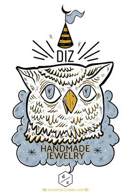 "Work on commission for ""Diz Design, Italian Handmade Jewellery"""