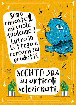 Work on commission for the fairtrade shop Capoverso