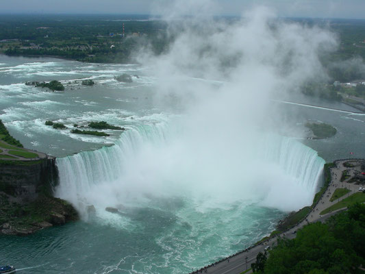 The Horseshoe Falls - View from Canada
