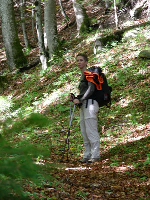 Aufstieg zum Stockhorn von Blumenstein