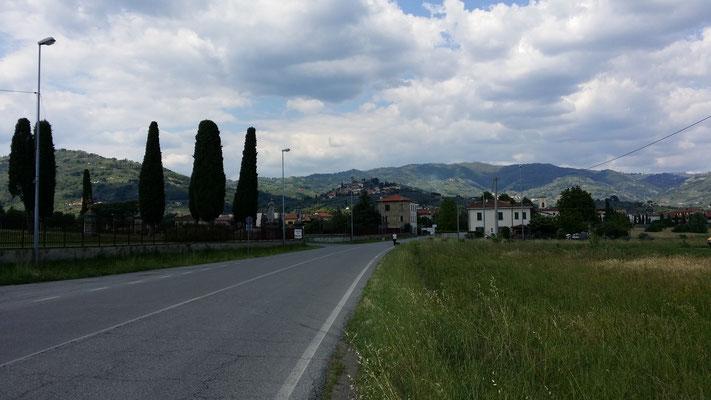Blick auf Buggiano Castello (LU)