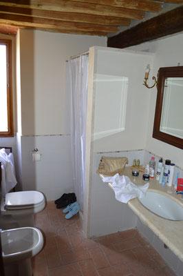 Zimmer im Nebengebäude der Villa Sermolli, Buggiano Castello (LU)