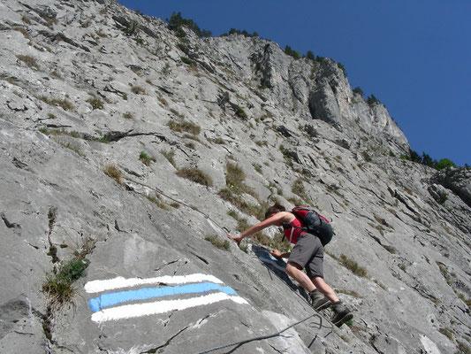 Klettersteig Wimmis : Klettersteig am sunnighorn mountain report