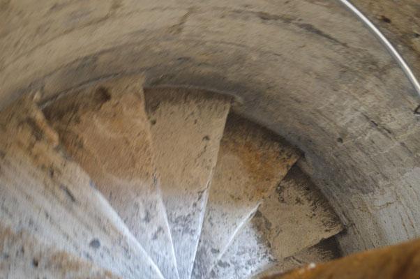 Aufstieg im Facciatone