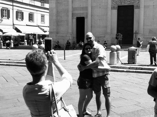 Fotosession vor San Michele in Foro Chiesa di San Michele in Foro, Lucca