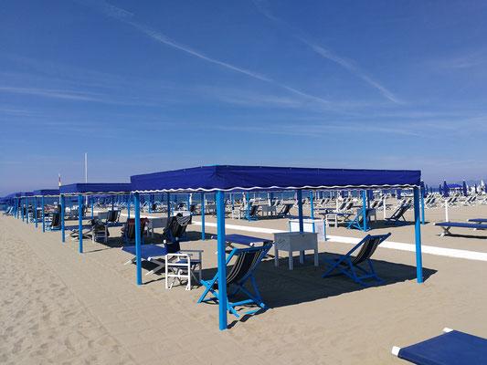 Strand in Forte dei Marmi (LU)