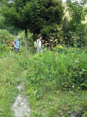 Via Ferrata Diavolo - Rückweg