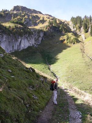 Aufstieg zum Walalpgrad