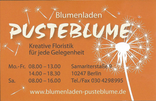 Pusteblume - Kreative Floristik