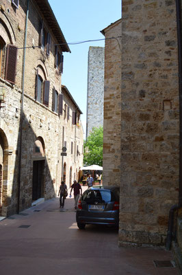 Unterwegs in San Gimignano