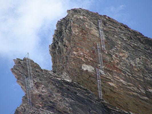 Klettersteig Schwarzhorn : Klettersteig am schwarzhorn mountain report