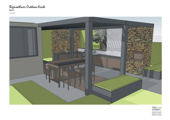 Outdoor Küche Unterbau : Gartentrends blanik gmbh garten und landschaftsbau bottrop