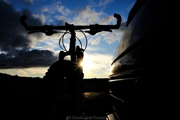 Bus & Bike.  Klasse Mischung für das  weitere Erkunden der Gegend.