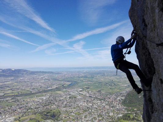 Via Kessi Klettersteig : Ks via kessi kapf d e berge und abenteuer