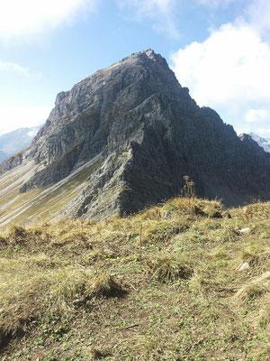 Blick vom Gipfel auf das Karhorn