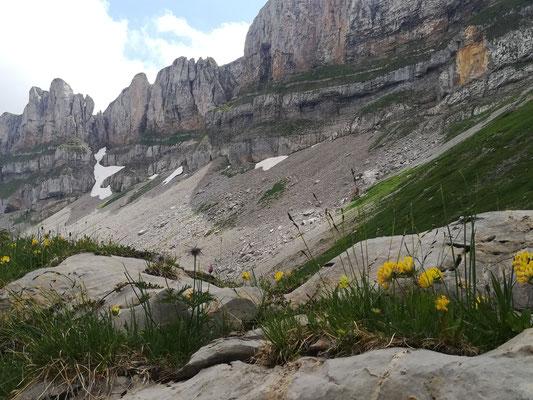 Erinnert fast ein bisschen an die Dolomiten
