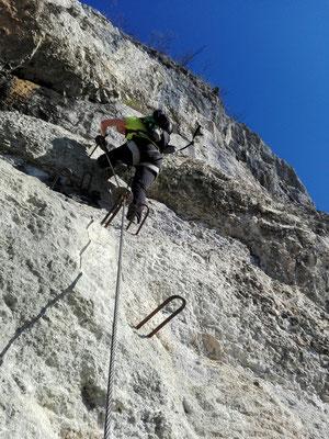 Abstieg Kessi Klettersteig