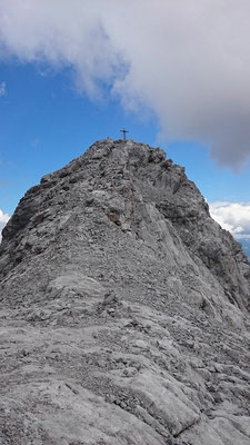 Gipfelkreuz Mittlerer Turm