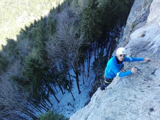 Klettersteig Via Kapf : Ks via kessi kapf d e berge und abenteuer
