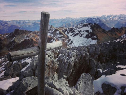Gipfelkreuz Weißplatte