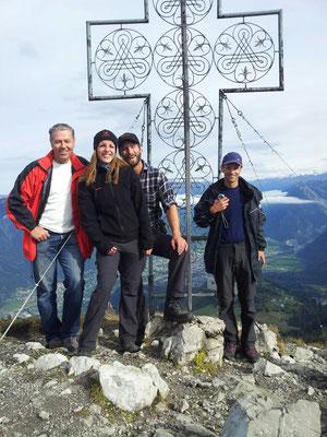Gipfel Mondspitze