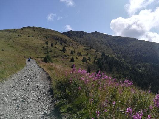 Auf dem Weg zur Silianer Hütte