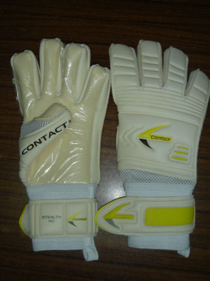 Torwart Handschuh Stealth NC White
