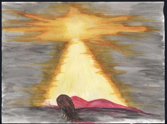 Die Geschichte von Paulus und Silas im Gefängnis. Wenn wir in äusserster Not sind und Gott immer noch ehren. Gibt es ein grösseres Geschenk, dass wir Gott entgegenhalten können, als unser zerbrochen sein und doch Ihm weiterhin zu vertrauen?