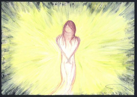 """Egal wie du dich in Anbetracht der Finsternis fühlst. Sei nur ganz unverzagt, denn der HERR dein Gott ist mit dir! Da wo du bist ist Licht, denn dein """"Licht"""" ist mit dir!"""