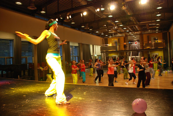 ZUMBA PARTY GOLDACH 2012