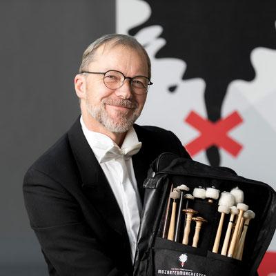 MICHAEL MITTERLEHNER-ROMM Koordinierter Solopauker/Schlagzeuger