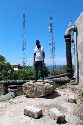 Garçon du château d'eau de Musoma