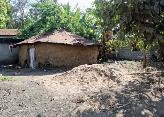 Maison en pisé
