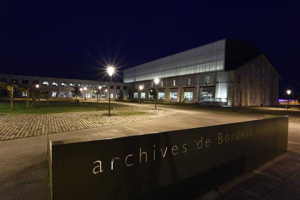 Les Archives de Bordeaux Métropole