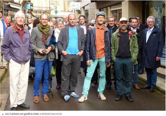 Michel Brand, Laurent Valera, Nicolas Bazès, Louis Lambert, Xavier Eltono