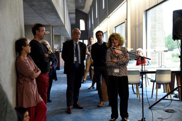 Marie-Sylvie Barrère - co-commissaire d'exposition pour les ABM