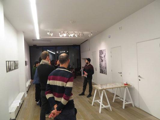 Ete 78 avec Olivier Gevart, et les artistes Laura Lafon & Esteban Gonzalez dans leur exposition  NON SE BUTTA NIENTE  http://www.ete78.com