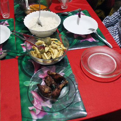 A table chez mama Shei