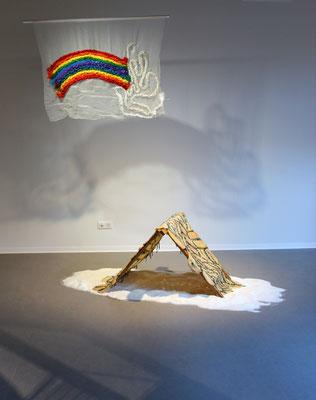 Installation de Lucie Bayens.