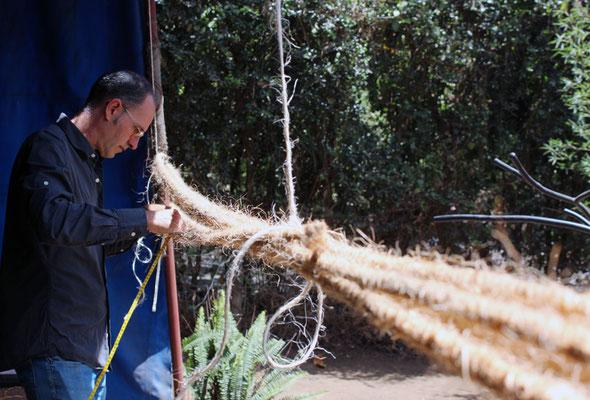 Préparation des cordages