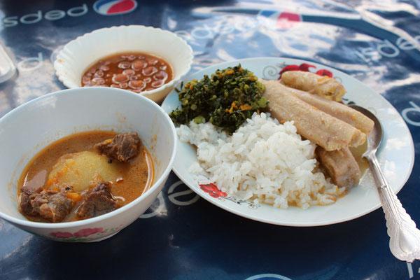 Un bon plat de Mama Mzungu